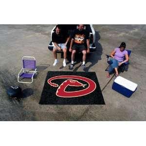 MLB Arizona Diamondbacks Tailgate Mat / Area Rug Sports