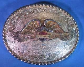 1978 Raintree Harley Davidson Belt Buckle K