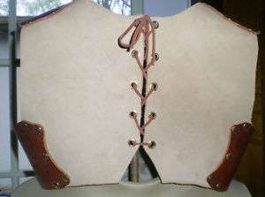 Childs Leather Dragon Rider Chest Armor LARP SCA