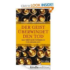 (German Edition): Dzogchen Ponlop Rinpoche:  Kindle Store