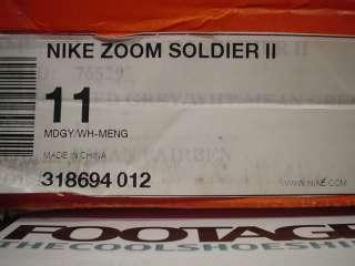 2008 Nike Zoom Lebron SOLDIER II 2 DUNKMAN PE GREEN 11