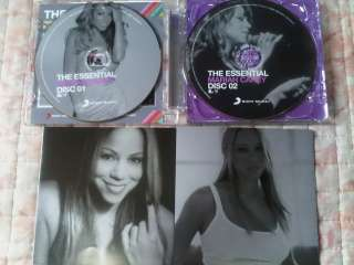 Mariah Carey The Essential 2CDs Promo CD album Thailand Limited