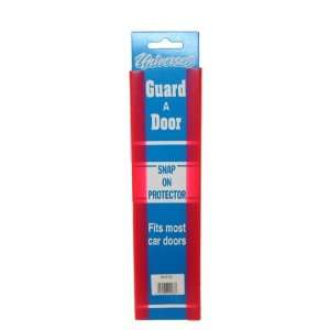 Universal Red Door Edge Guard Protector Snap On Pair