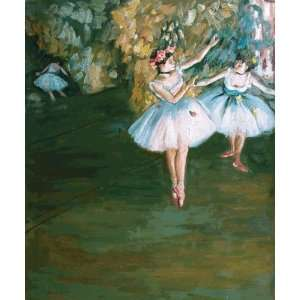 Degas Art Reproductions and Oil Paintings Two Dancers on