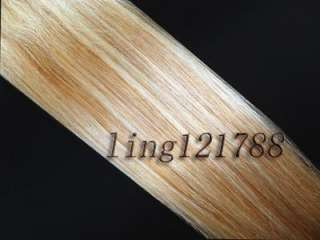 22/26 Women Long Clip In Human Hair Extensions 8 Colors For Select