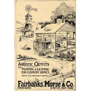 Country Homes Fairbanks Morse   Original Print Ad: Home & Kitchen