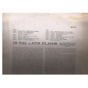 In the Latin Flavor: Arthur Fiedler Boston Pops Orchestra: Music