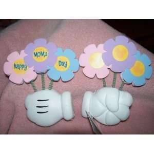 Day Mickey Mouse Hand Holding Flowers Antenna Topper