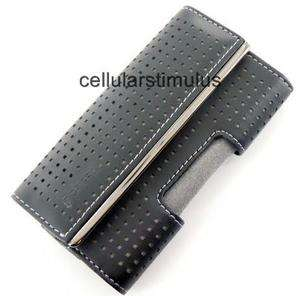 New OEM Black Griffin Leather Elan Holster Metal Pouch Case for iPhone