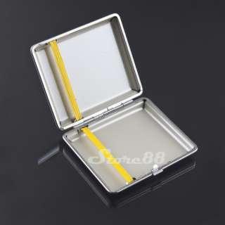 New Black Cigarette Tobacco Box Case Figure Holder 18 pcs