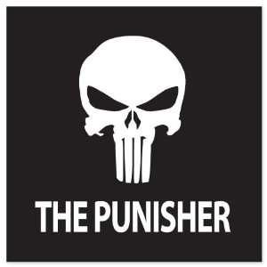 Punisher movie vynil car sticker decal 4 x 4 Everything