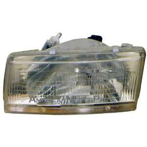 Toyota Tercel Driver Side Replacement Headlight