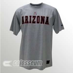 Arizona Wildcats Licensed Embroidered Logo T Shirt Sports
