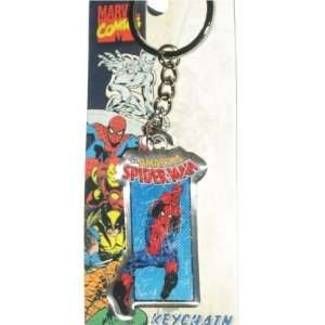 Marvel Comics Spiderman Metal Keychain MC31032: Toys & Games