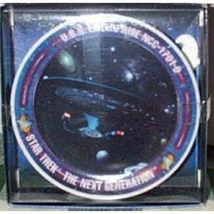Star Trek Next Gen Enterprise D Porcelain Mini Plate