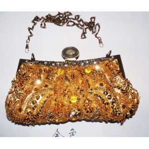 Victorian Style Vintage Accessories Bridal Purse Beaded Evening Purse