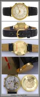 Mens Vintage Cartier Jaeger LeCoultre Alarm Watch