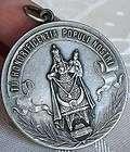 ART NOUVEAU OUR LADY OF ROSARY PILGRIMAGE MEDAL.D 1910