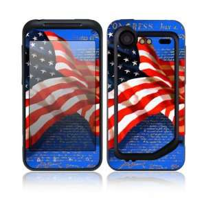 Flag of Honor Design Decorative Skin Cover Decal Sticker