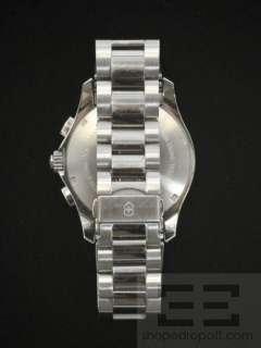 Victorinox Swiss Army Mens Chrono Stainless Steel Watch 241122