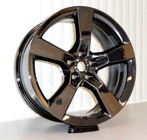 Factory 2010 Camaro SS 20 BLACK CHROME PVD Wheels