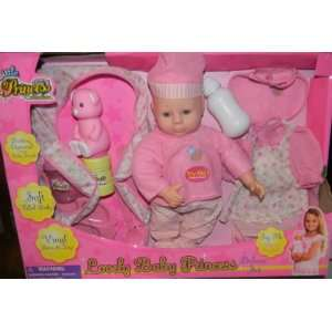 LOVELY BABY PRINCESS DELUXE PLAY SET BATTERY OPERATED WITH BABY