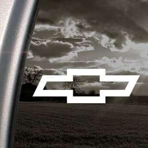 CHEVROLET CHEVY BOWTIE Decal Truck Window Sticker Arts