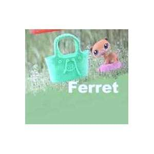 Happy Meal Littlest Pet Shop LPS Ferret #8, 2010