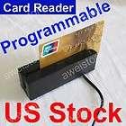 USB Magnetic Credit Card Reader Mini Mag Stripe Swiper 3 Track HiCo