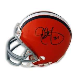 Eric Metcalf Autographed/Hand Signed Cleveland Browns Mini