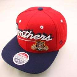 FLORIDA PANTHERS NHL SNAPBACK HAT CAP SHADOW SCRIPT