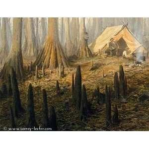 John Seerey Lester   Cypress Camp Canvas Giclee