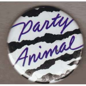 1.75 Button Pin Badge Party Animal Toys & Games