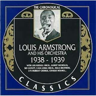 Louis Armstrong and his orchestra 1938 1939 Clifford