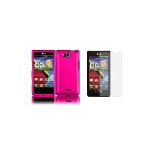 LG Lucid (Verizon) Premium Combo Pack   Hot Pink Hard