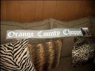 Orange County Choppers Windshield Decal Sticker WOW