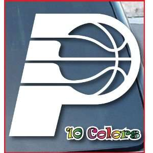 Indiana Pacers Car Window Vinyl Decal Sticker 7 Wide