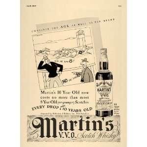 1937 Ad Horse Racing Martins V. V. O. Scotch Whisky