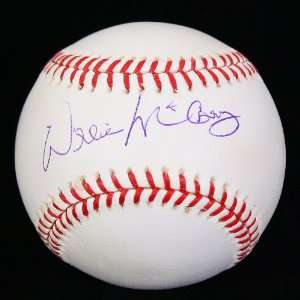 Autographed Willie McCovey Baseball   OML PSA DNA Sports