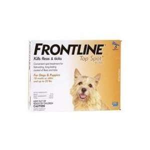 Frontline Top Spot for Dogs up to 22lbs: Pet Supplies