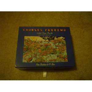 Charles Fazzino 1,000 Piece Puzzle From Beantown to P town