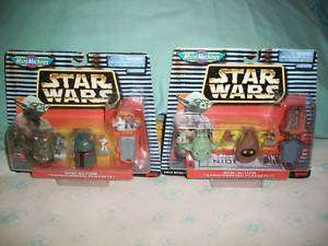 WARS MICRO MACHINES MINI HEADS SETS 1 & 3 GALOOB COLLECTIBLE 1997 NOC