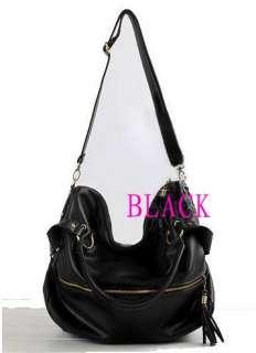 Fringe PU leather lady Shoulder Bag Handbag tote purse