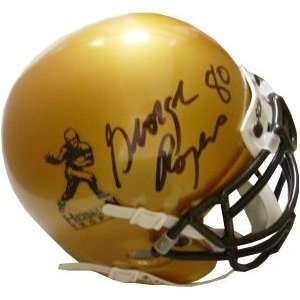 George Rogers signed Gold Heisman Authentic Mini Helmet 80