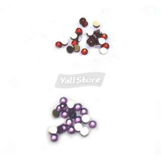 0mm Nail Art Rhinestones Glitters + Professional Nail Glue 3g