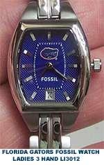 Florida Gators Fossil National Champions Watch 698616049355