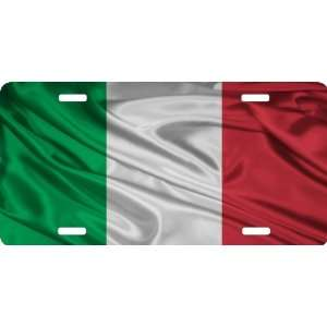 Rikki KnightTM Italy Flag Cool Novelty License Plate