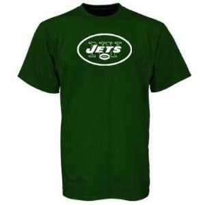 NFL Mens New York Jets T Shirt Logo Premier Tee Shirt, (BLACK MEDUIM)
