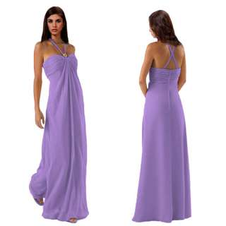 Gorgeous Long Formal Bridesmaid Dress Evening Gown 6~24