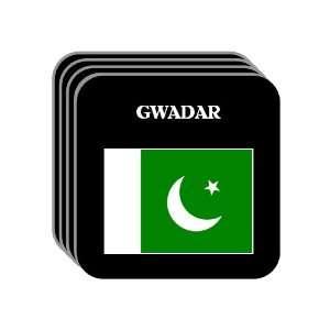 Pakistan   GWADAR Set of 4 Mini Mousepad Coasters